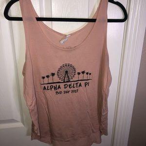 Pink ADPI Tank Top